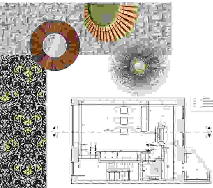 CASA DE CHÁ - Planta por EGO Interior Design Eclético