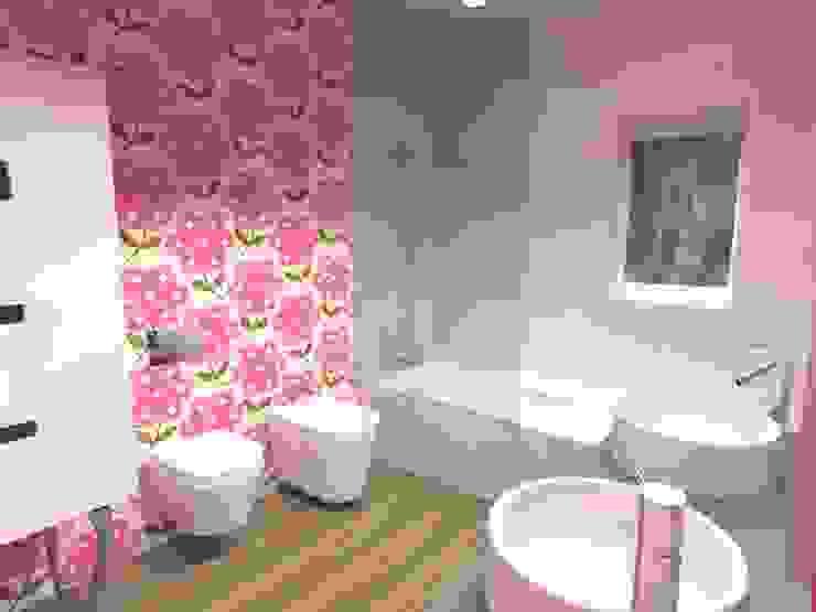 Casa de Banho das Meninas Casas de banho modernas por MUDE Home & Lifestyle Moderno