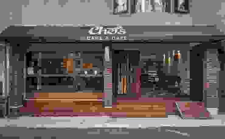 Chef's Cake & Cafe 根據 寬築設計 工業風
