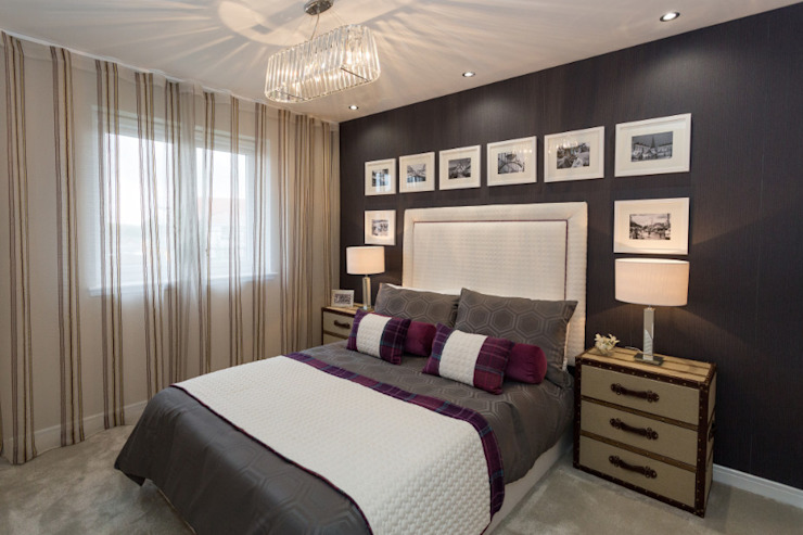 Take a step into luxury each day.. Modern style bedroom by Graeme Fuller Design Ltd Modern