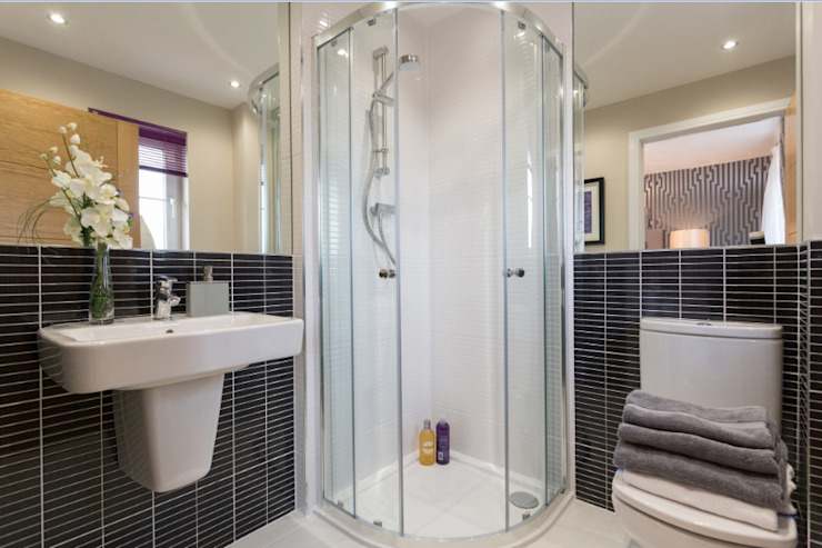 Take a step into luxury each day.. Modern style bathrooms by Graeme Fuller Design Ltd Modern