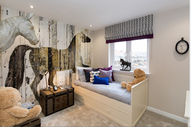 Bedroom by Graeme Fuller Design Ltd,