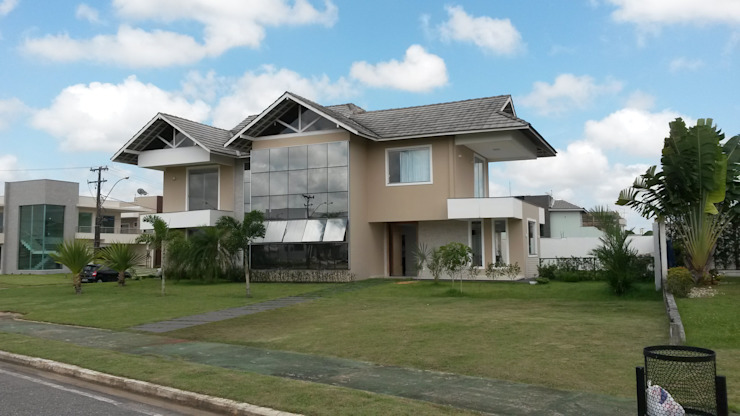 Fachada Casas modernas por homify Moderno Cerâmica