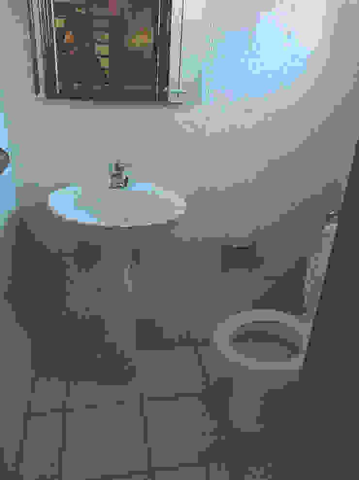 Instalações sanitárias - Antes por HC Construções