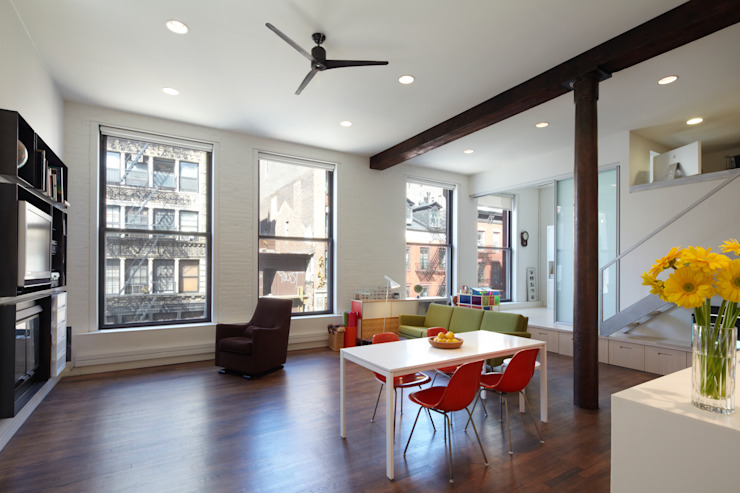 Bento Box Loft, Koko Architecture + Design Modern Living Room by Koko Architecture + Design Modern