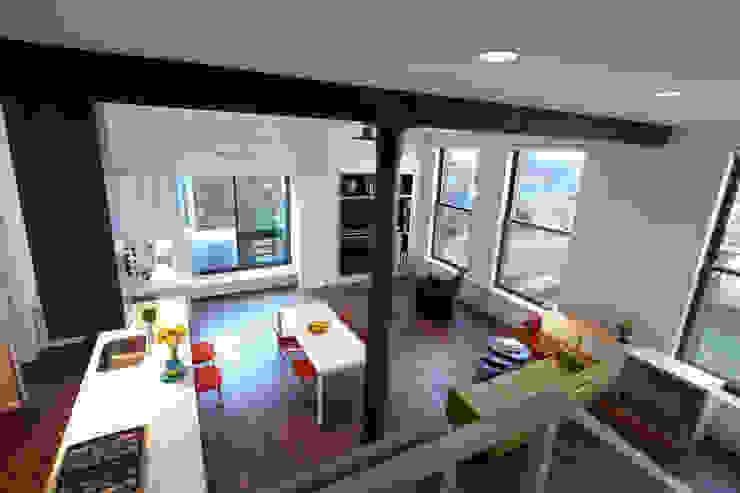 Bento Box Loft, Koko Architecture + Design Koko Architecture + Design Modern Living Room