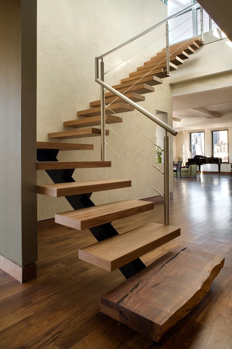 Empire State Loft, Koko Architecture + Design Modern Corridor, Hallway and Staircase by Koko Architecture + Design Modern