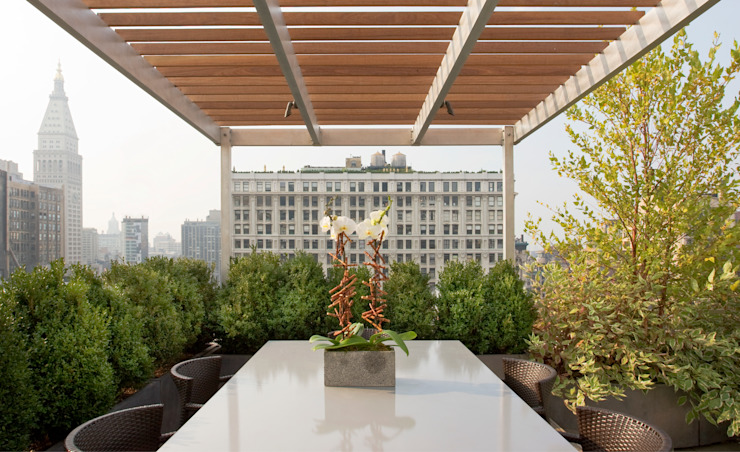 Empire State Loft, Koko Architecture + Design Koko Architecture + Design Modern terrace