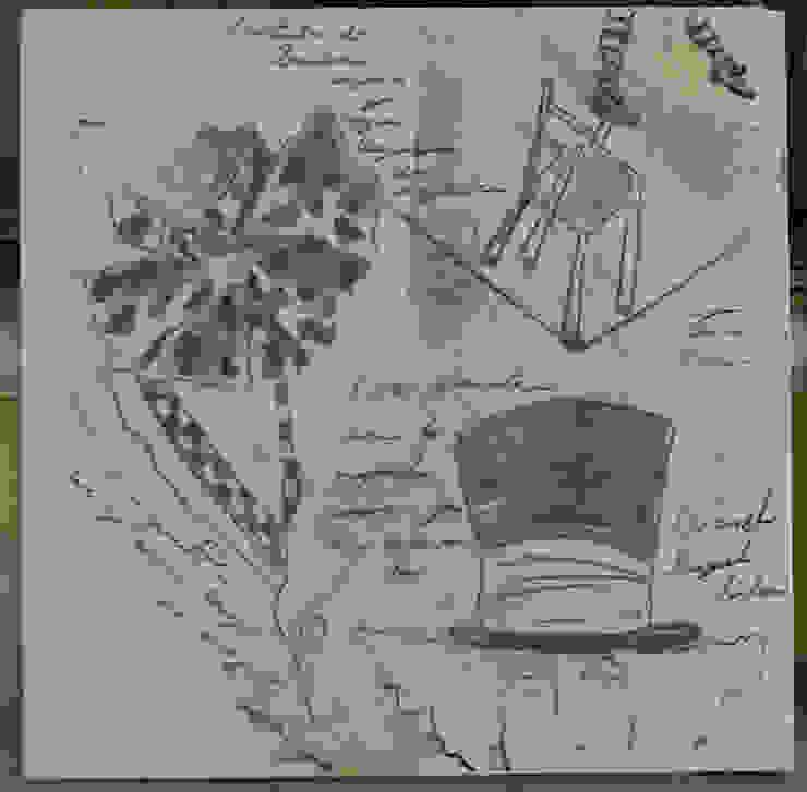 Estudio sombrerero 2 de ANTAVIA WALL DECOR Moderno