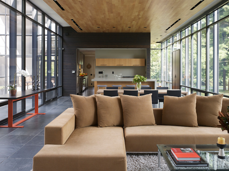 Dangle Byrd House, Koko Architecture + Design Koko Architecture + Design Modern Living Room