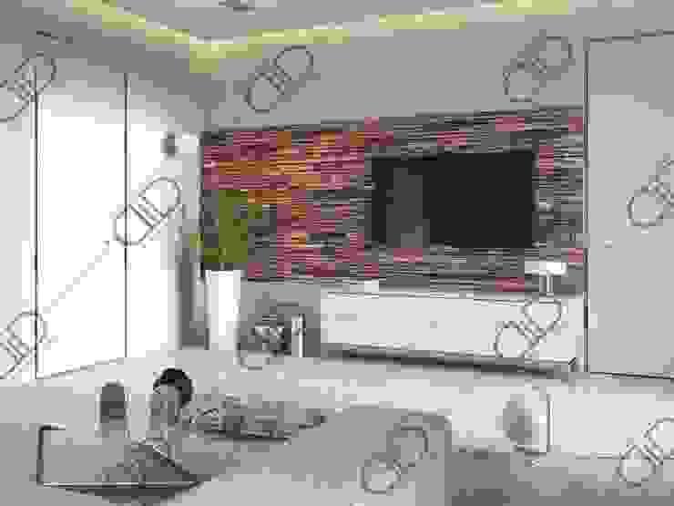 Interior Design and Rendering Modern living room by Design Studio AiD Modern Engineered Wood Transparent