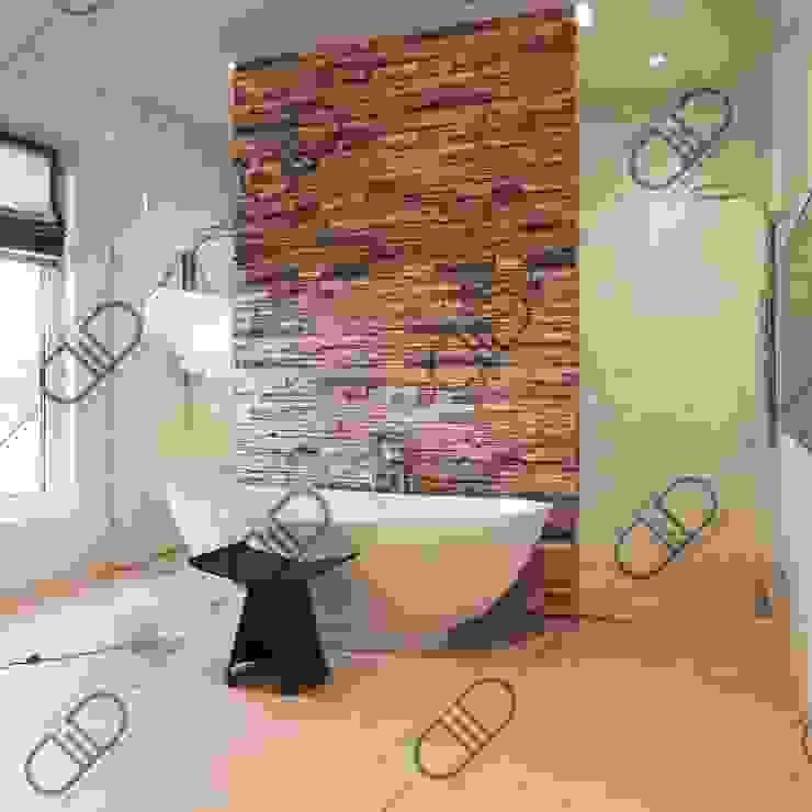Interior Design and Rendering Minimalist style bathroom by Design Studio AiD Minimalist Ceramic