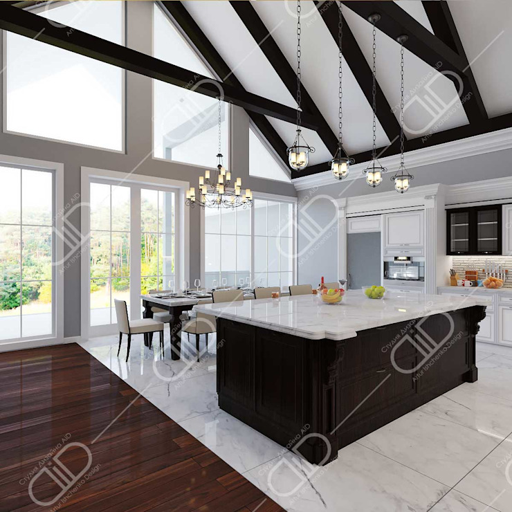Interior Design and Rendering by Design Studio AiD Classic Wood Wood effect