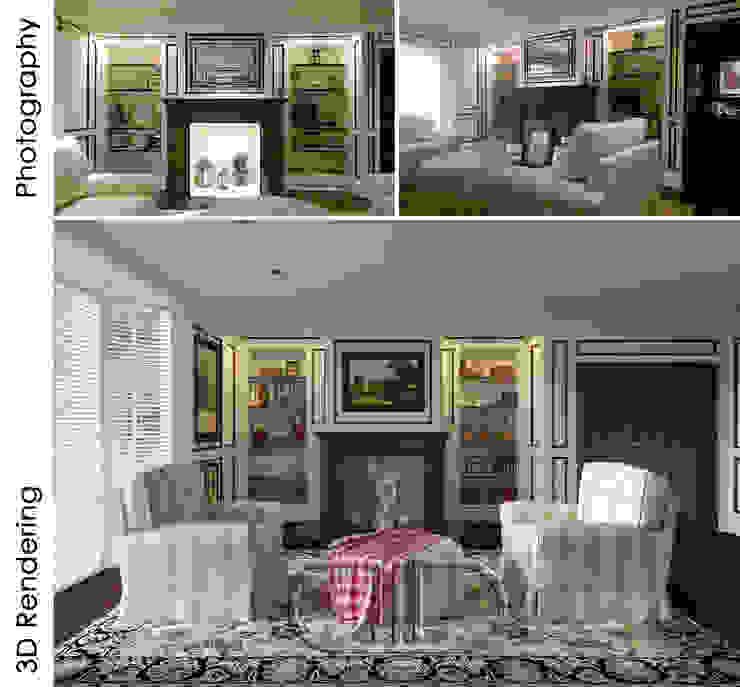 Interior Design and Rendering by Design Studio AiD Classic Granite