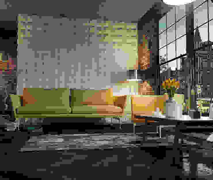 Interior Design and Rendering by Design Studio AiD Modern Ceramic