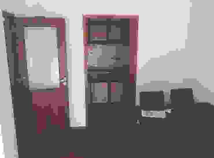 Sala, Cozinha - Antes por HC Construções