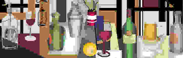 Boceto 3 de ANTAVIA WALL DECOR Moderno