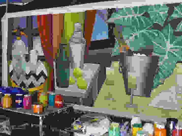 Mural en producción de ANTAVIA WALL DECOR Moderno