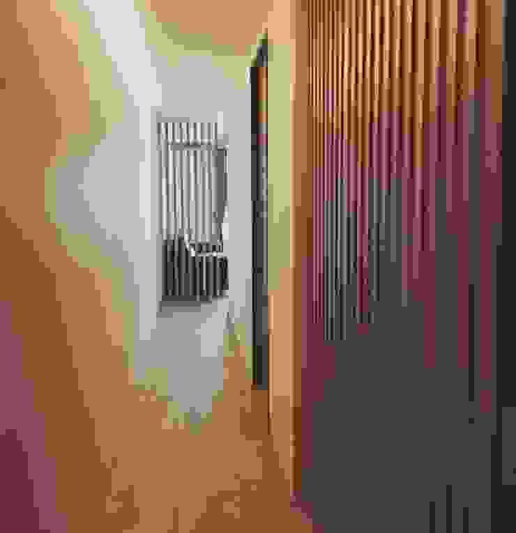 台中梧棲 莊公館 斯堪的納維亞風格的走廊,走廊和樓梯 根據 拓雅室內裝修有限公司 北歐風