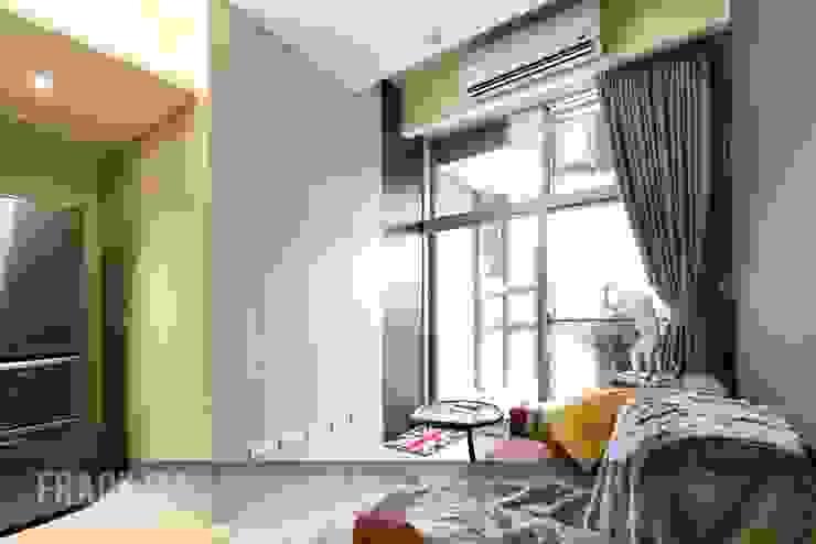 Salas / recibidores de estilo  por 中孚 設計 / FRANKFU INERIOR DESIGN, Moderno