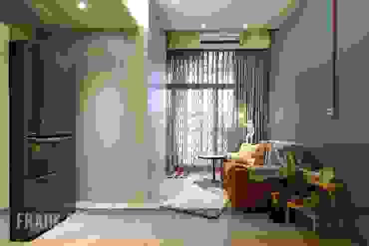 北投 阿曼 现代客厅設計點子、靈感 & 圖片 根據 中孚 設計 / FRANKFU INERIOR DESIGN 現代風
