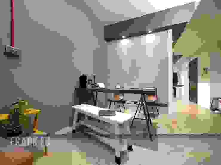 Phòng ăn phong cách hiện đại bởi 中孚 設計 / FRANKFU INERIOR DESIGN Hiện đại
