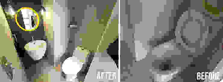 北投 阿曼 現代浴室設計點子、靈感&圖片 根據 中孚 設計 / FRANKFU INERIOR DESIGN 現代風