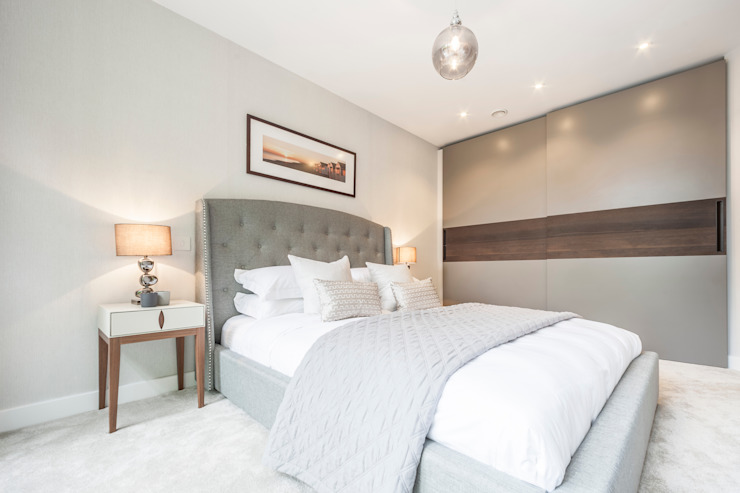 WESTMINSTER RD, BRANKSOME. DORSET - BEDROOM 根據 Jigsaw Interior Architecture