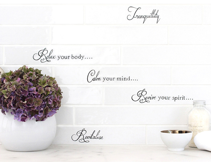 Country Brick Calligraphy: classic  by Decorum Tiles, Classic