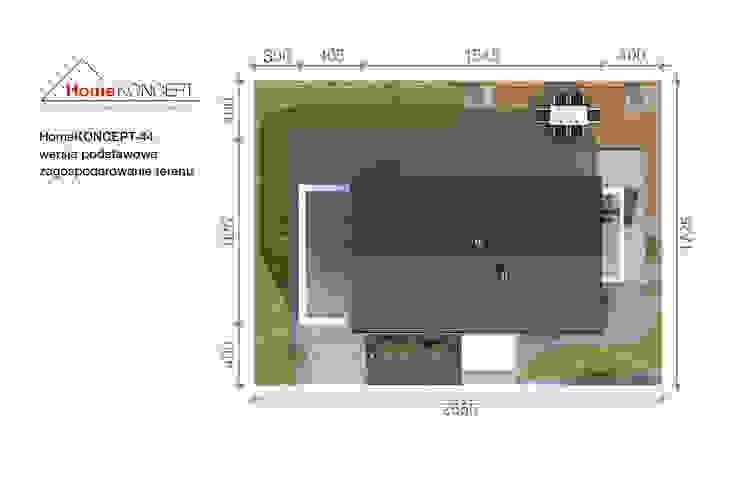 Projekt domu HomeKONCEPT-44 od homify Nowoczesny