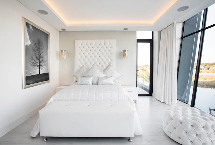 FRANCOIS MARAIS ARCHITECTS Modern style bedroom