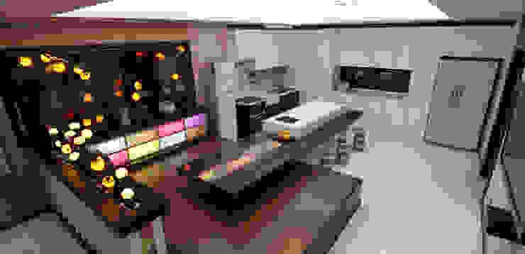 전통한옥, 현대와 만나다 아시아스타일 거실 by Daehan Housing 한옥