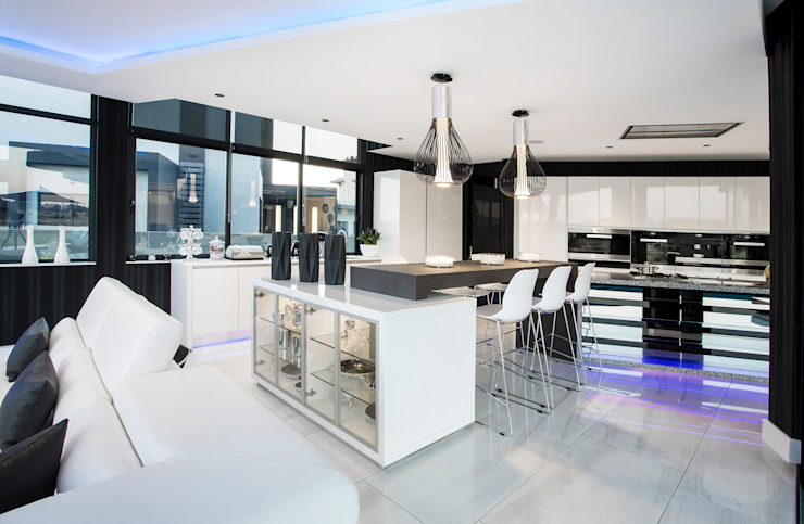 ULTRA MODERN RESIDENCE Modern kitchen by FRANCOIS MARAIS ARCHITECTS Modern