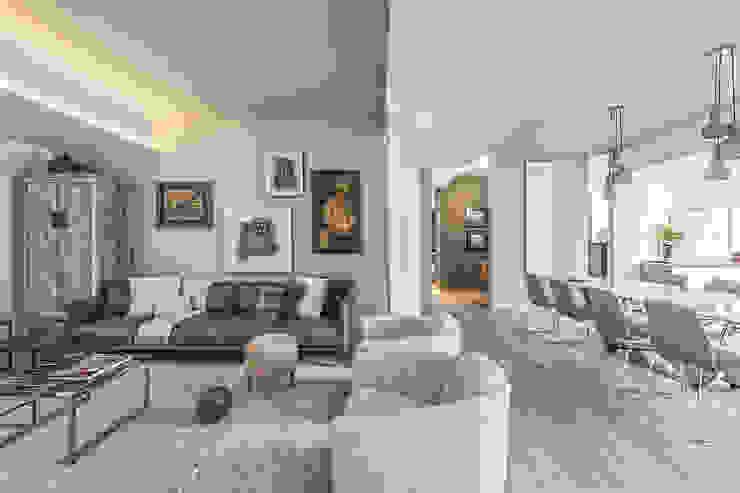 Phòng khách theo BRANDO concept,