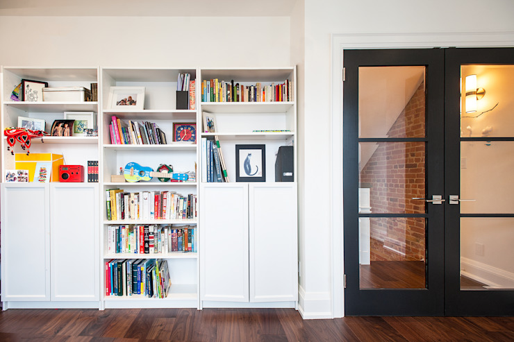 Bickford Park Modern Study Room and Home Office by Solares Architecture Modern