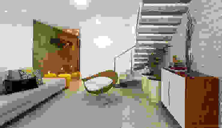 Apartamento, Maceió Al: Salas de estar  por Cris Nunes Arquiteta,Clássico
