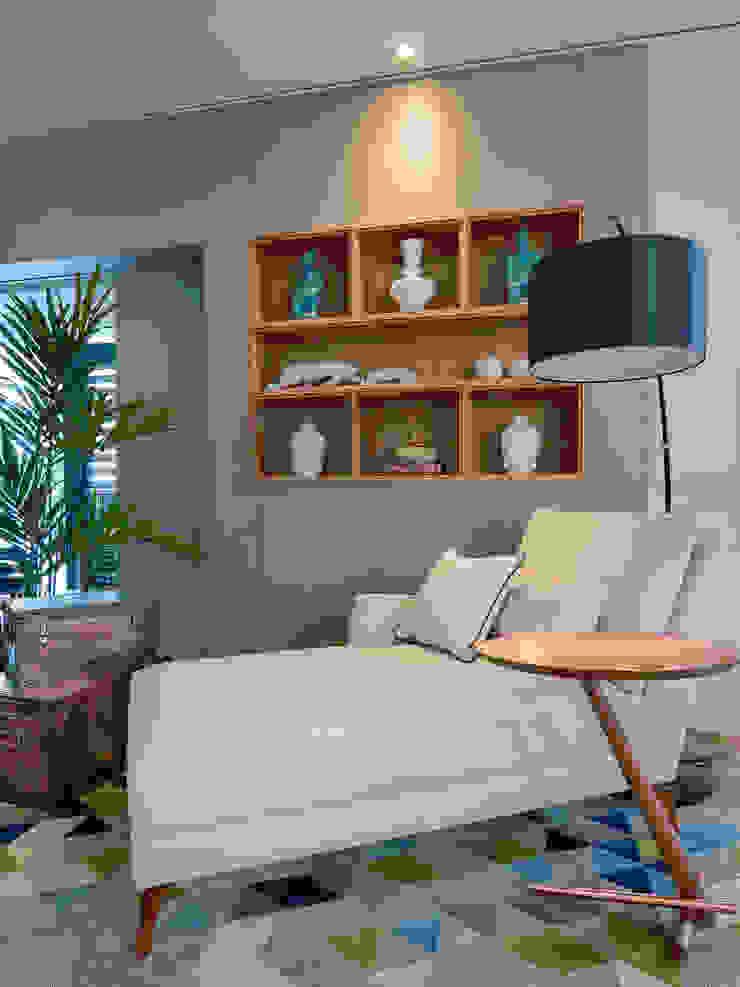 de Sgabello Interiores Moderno Lino Rosa