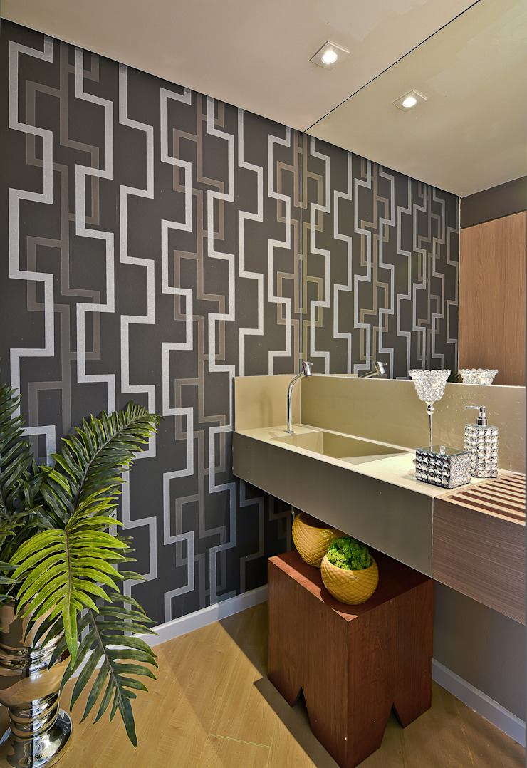 Sgabello Interiores Modern bathroom Stone Grey