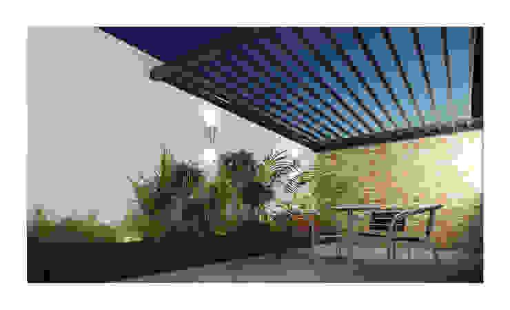 Hiên, sân thượng by DAR Arquitectos