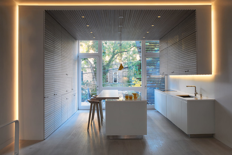 Passive in Park Slope Modern Kitchen by Sarah Jefferys Design Modern