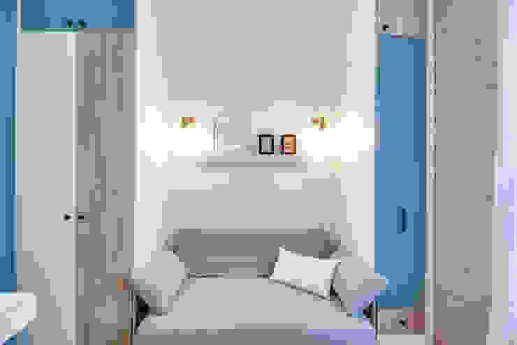 LD&CO.Paris 'La Demoiselle et la Caisse à Outils' Dormitorios escandinavos Madera Azul
