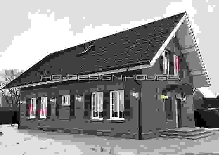 Вид 1. Экстерьер. Дома в классическом стиле от hq-design Классический