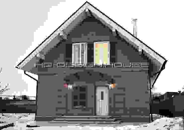 Вид 2. Экстерьер. Дома в классическом стиле от hq-design Классический