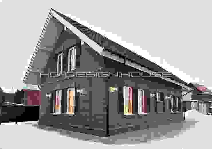 Вид 3. Экстерьер Дома в классическом стиле от hq-design Классический