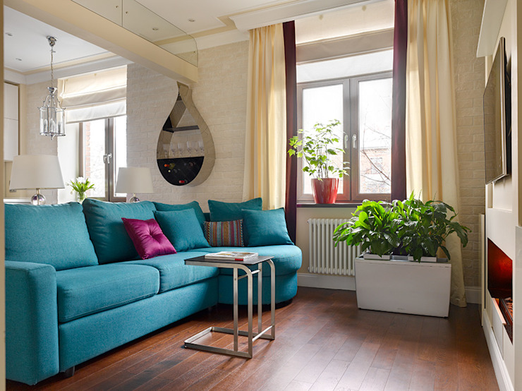 Marina Pennie Design&Art Living room Blue