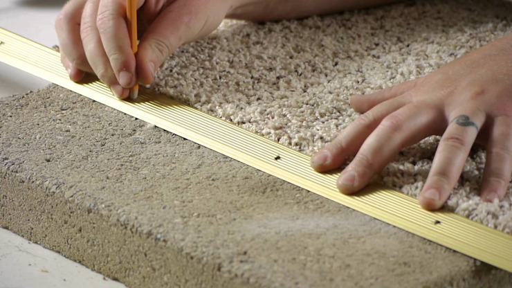 Fixing damaged carpet by Cape Town Carpet Cleaners