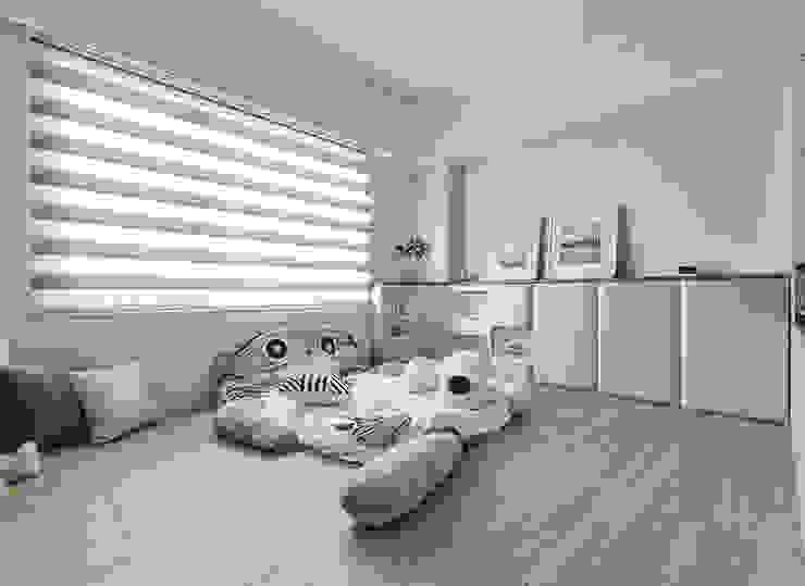 Nursery/kid's room by 皇室空間室內設計, Modern
