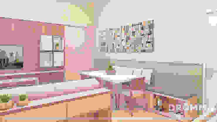 ESTAR L | F Salas de estar modernas por Drömma Arquitetura Moderno