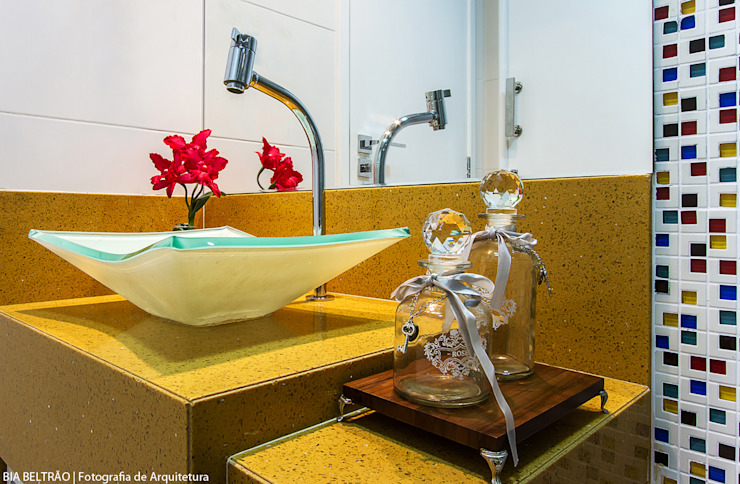 Cris Nunes Arquiteta Baños de estilo clásico