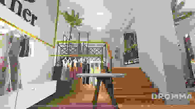 INTERIORES FORNER STORE Lojas e Espaços comerciais tropicais por Drömma Arquitetura Tropical
